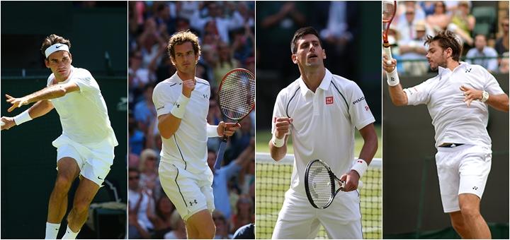 sferturile de finală masculine la Wimbledon