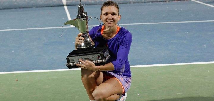 Simona Halep este campioană la Dubai