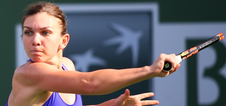 Simona Halep se califică în finală la Indian Wells