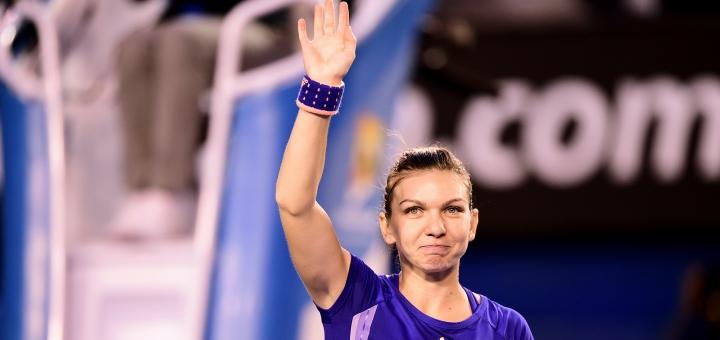 Simona Halep este în sferturi la Australian Open