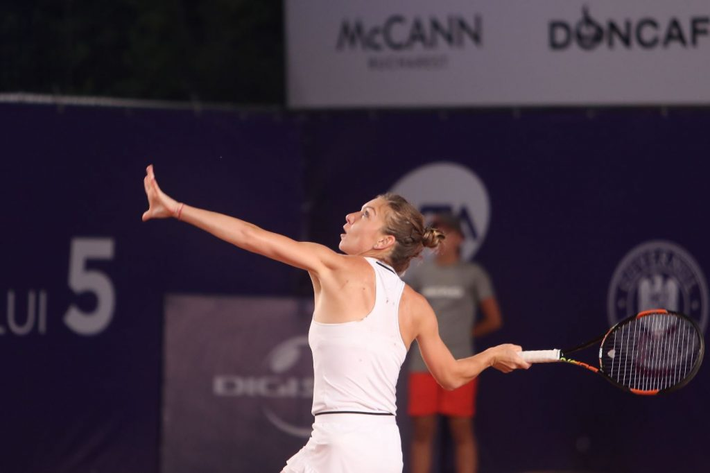 Halep Drive Volley